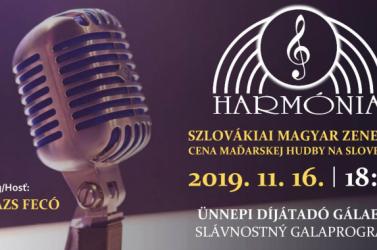 Harmónia-díj 2019: Megújul a Szlovákiai Magyar Zenei Díj
