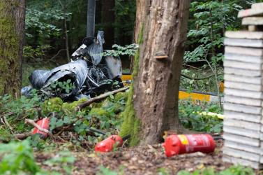 Többen meghaltak egy helikopterbalesetben Németországban
