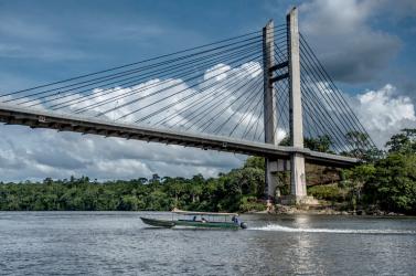 Megnyílt a forgalom előtt az Európai Uniót Dél-Amerikával összekötő híd