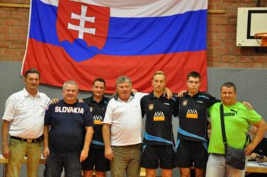 A hodosi asztaliteniszezők ezúttal Luxemburgban remekeltek