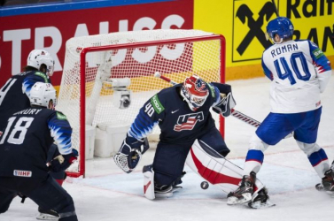 Jégkorong-vb - Kikapott a szlovák válogatot az amerikaiaktól, a németek is négy közé jutottak