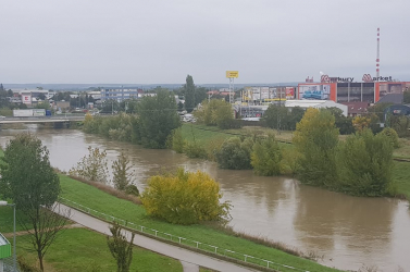 Több járásban vészes a helyzet, harmadfokú árvízriasztás van érvényben