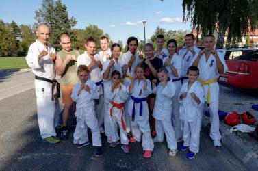 A bősi Kyokushin Karate Oyama Dojo idén is nagy tervekkel vág neki a versenyszezonnak
