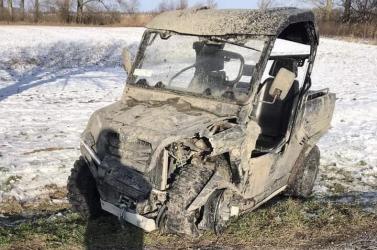 BALESET: Négykerekű ütközött egy terepjáróval Alistál és Ekecs között