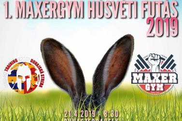 Regisztrálj Te is a MAXERGYM Húsvéti Futásra!