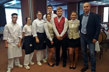 Budapesten szereztek szakmai tapasztalatokat a Vidékfejlesztési Szakközépiskola diákjai