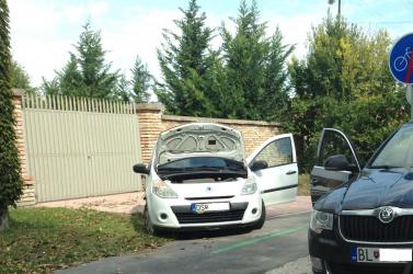 BALESET: Két személykocsi koccant Szentmihályfa-Kolóniánál