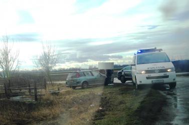 BALESET: Két személyautó ütközött Felsőpatonynál