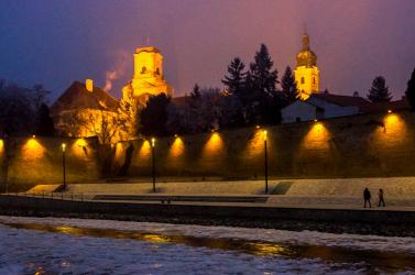 Beesett egy nő a Dunába Győrben