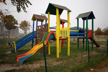 Megkezdték a játszóterek és a zöldterületek karbantartását Vágsellyén