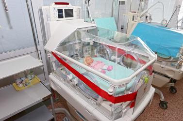 Új inkubátorral bővült a lévai kórház újszülött osztálya