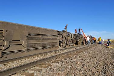 Kisiklott egy vonat az Egyesült Államokban, többen meghaltak