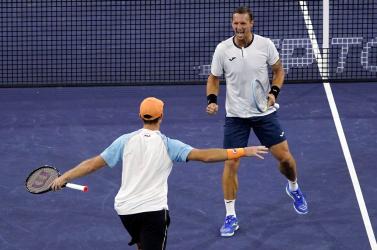Indian Wells-i tenisztorna: a szlovák Filip Polášek és ausztrál társa nyerte a páros döntőt