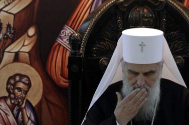 Koronavírusos a szerb ortodox egyház feje