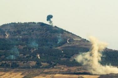 Izraeli támadás érte Szíria déli részét