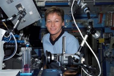 Rekordot állított fel az űrhajósnő