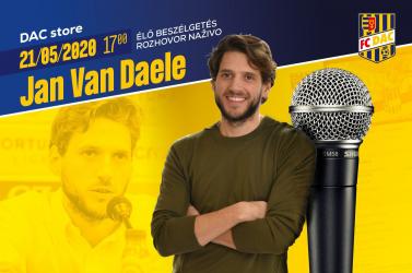 Jan Van Daele sportigazgató nyilatkozott élőben a DAC hivatalos Facebook-profilján VIDEÓ
