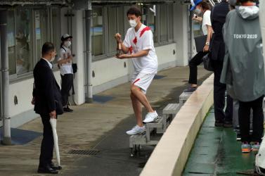 Japánban lelépett egy olimpikon a hotelből, mert nem akar hazamenni, ahol túl nehéz az élet