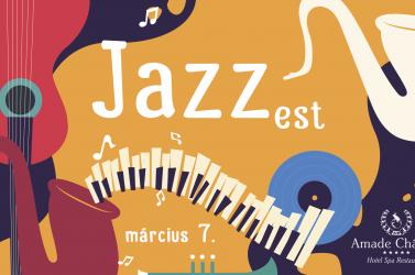 Jazz est az Amade Château-ben, március 7-én!