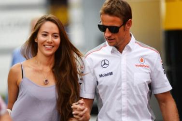 Csak egy évig tartott Jenson Button házassága