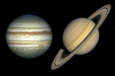 Decemberben ritka közel lesz egymáshoz a Jupiter és a Szaturnusz