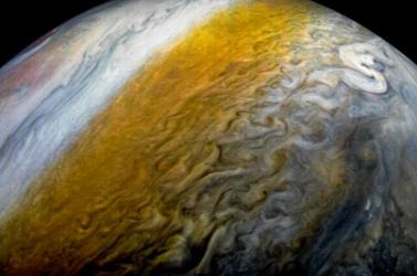 Elképesztő fotók a Jupiterről