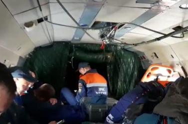 Megtalálták a lezuhant orosz repülőgép kilenc utasánakholttestét