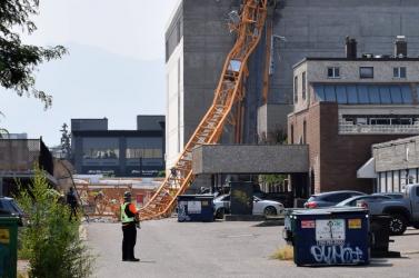 TRAGÉDIA: Darudőlt egy 25 emeletesépítés alatt álló lakóházra,négy ember meghalt