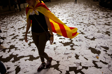 Százezrek tüntettek Barcelonában