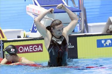 Vizes vb: Hosszú Katinka pályafutása során ötödször, sorozatban negyedszer nyerte meg  a 400 vegyest