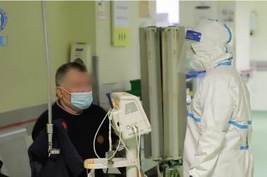 Drámai videót tettek közzé amarosvásárhelyi sürgősségi kórházkoronavírusos betegeinek ellátásáról