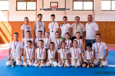 Polgármester Kupa Tameshiwari nemzetközi karateverseny zajlott Keszegfalván