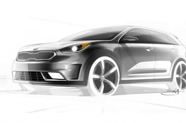 Hibrid autót készít a Kia