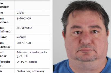 Feladta magát a rendőrségen a körözött szlovák krimiíró!
