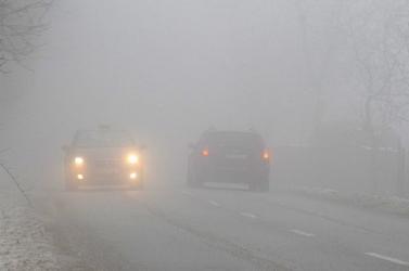 Kedd reggelre az egész ország ködbe borulhat