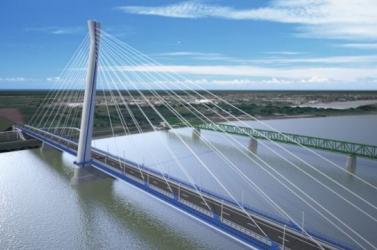 Meghalt egy munkás Komáromban a Duna-híd építése közben
