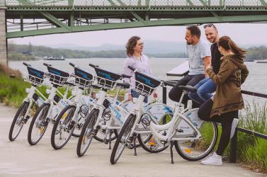 KOMBIbike - útjára indult a legnagyobb határon átnyúló kerékpárkölcsönző rendszer