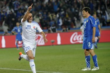 Őrizetbe vette a NAKA az egykori szlovák válogatott labdarúgót, aki hőssé vált a 2010-es vébén