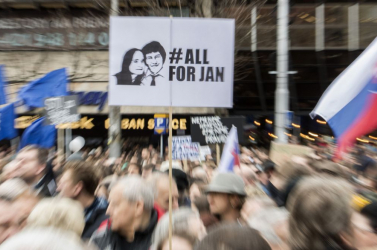 Posztumusz kitüntetést kapott Ján Kuciak az amerikaiaktól