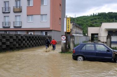 Mérséklődött az árvízhelyzet Kelet-Szlovákiában a hétvégi esőzések után