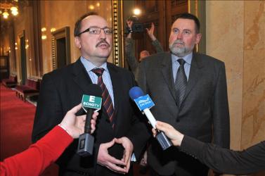 Németh Zsolt: A szlovák parlamentben