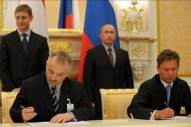 Földalatti gáztározót épít a Gazprom és a Mol Dél-Magyarországon