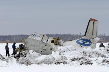 Lezuhant egy gép Szibériában: 31 halott, 12 túlélő