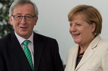 Ukrajnáról, menekültügyről és gazdasági kérdésekről tárgyal Merkel Junckerrel
