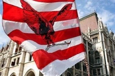 Intést kapott a Magyar Gárda zászlaját megáldó református lelkész