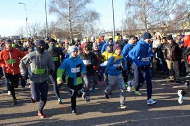 Rekordrészvétel, 306 futó és kocogó a tizenötödik dunaszerdahelyi szilveszteri futáson