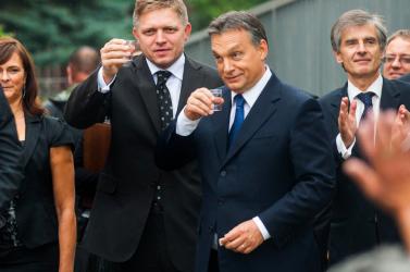 Fico és Orbán, mint jó szomszédok találkoztak