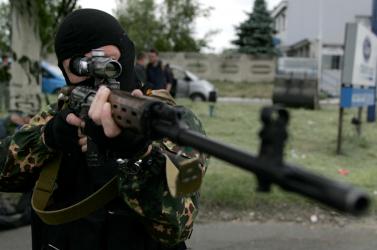Ukrán elnökválasztás - Szavazóurnákat zúztak szét oroszbarát fegyveresek Kelet-Ukrajnában