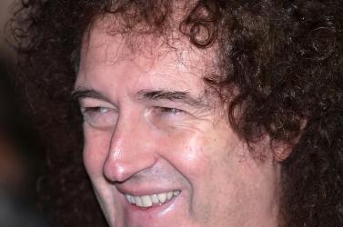 Brian May asztrofizikus, a rektori cím várományosa