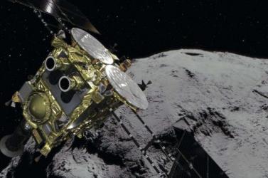 Február 22-én landol a Ryugu kisbolygón a Hajabusza-2 japán űrszonda
